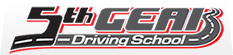 5th Gear Driving School Logo